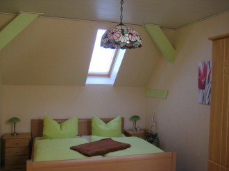 Ferienwohnung, Schlepzig, Spreewald, Sschlafzimmer